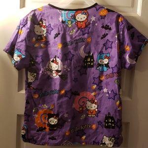 Sanrio Tops - Sanrio hello kitty halloween Scrub top sz XS used
